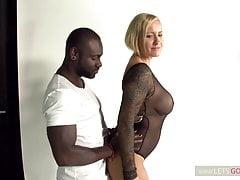 Black Monster Dick vs Blond Monster MILF