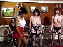 SCHOOL FOR STRIPPERS - vintage British big tits dancing