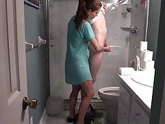 My Bathroom Handjob