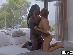 BLACKED, Shy Talia seduces her longtime crush on holiday